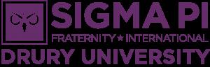 drury sigma pi logo horizontal bpurple